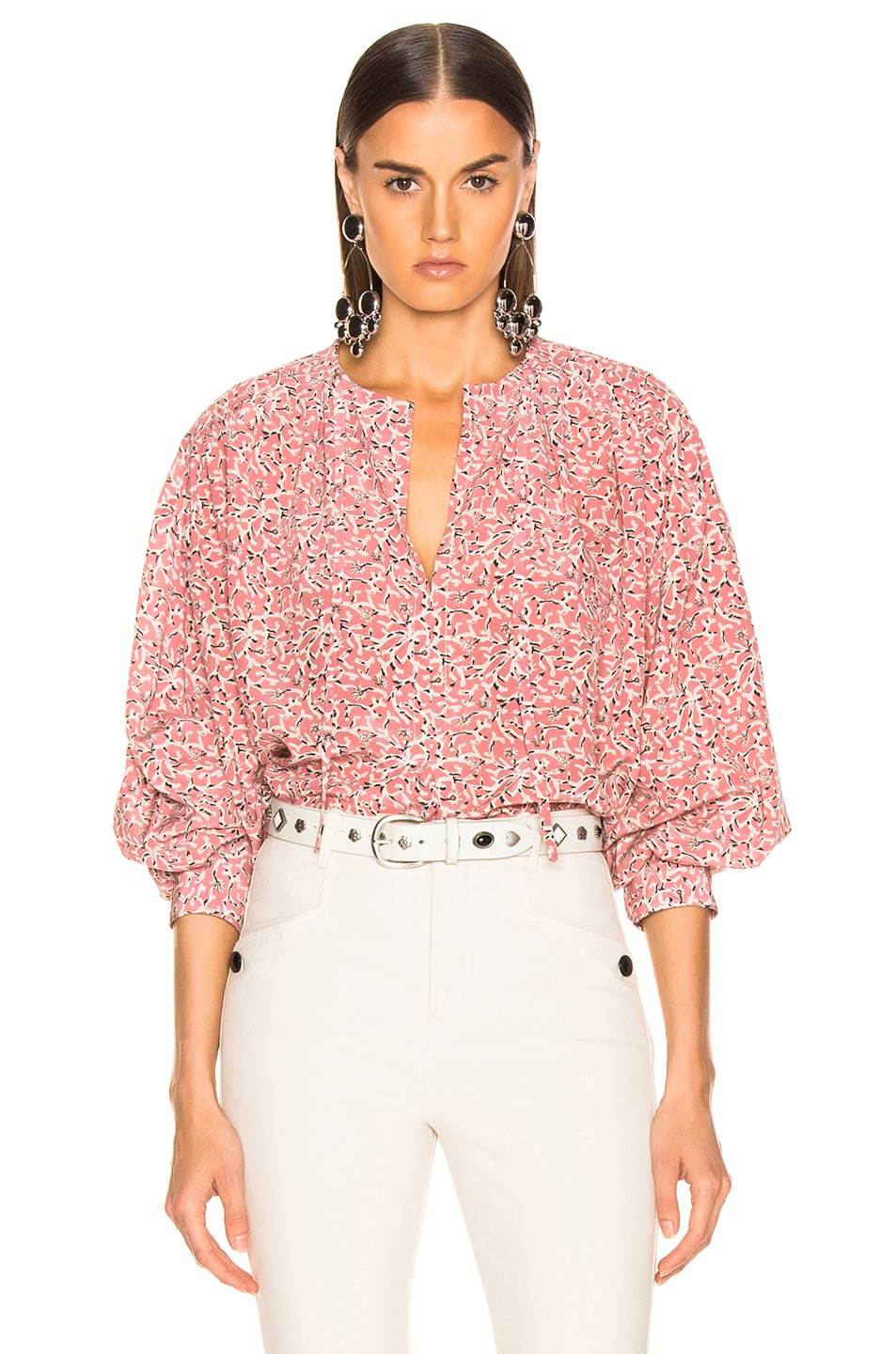 Image 1 of Isabel Marant Amba Top in Pink