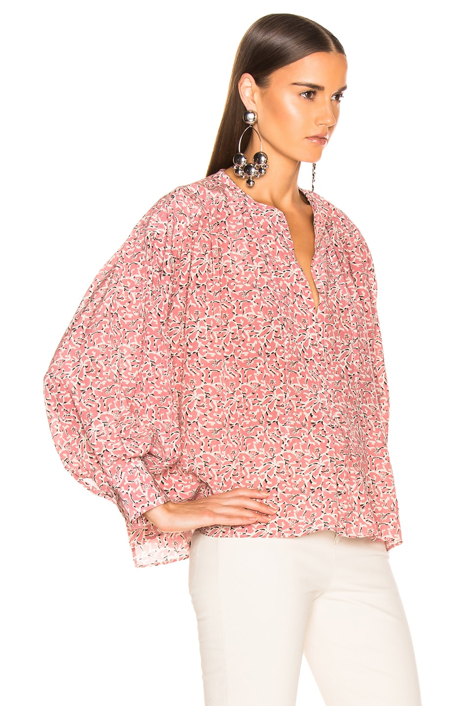 Image 2 of Isabel Marant Amba Top in Pink