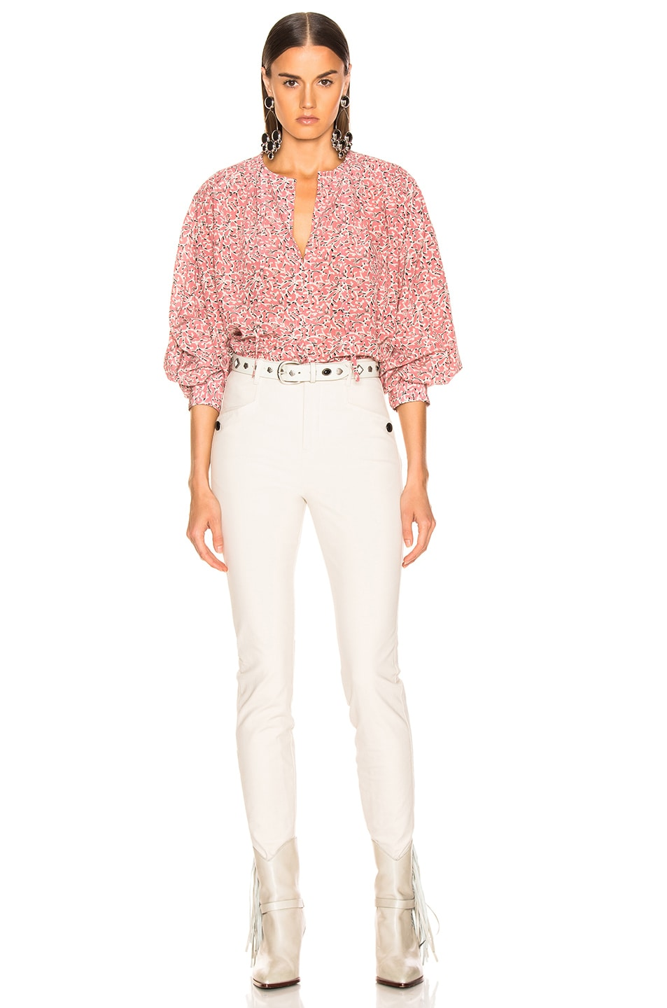 Image 4 of Isabel Marant Amba Top in Pink