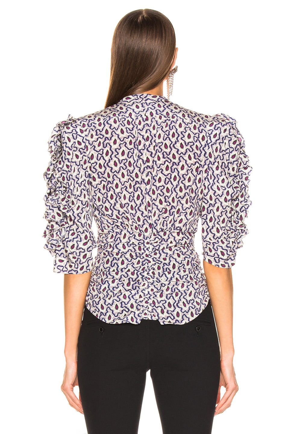 Image 3 of Isabel Marant Andora Top in Blue