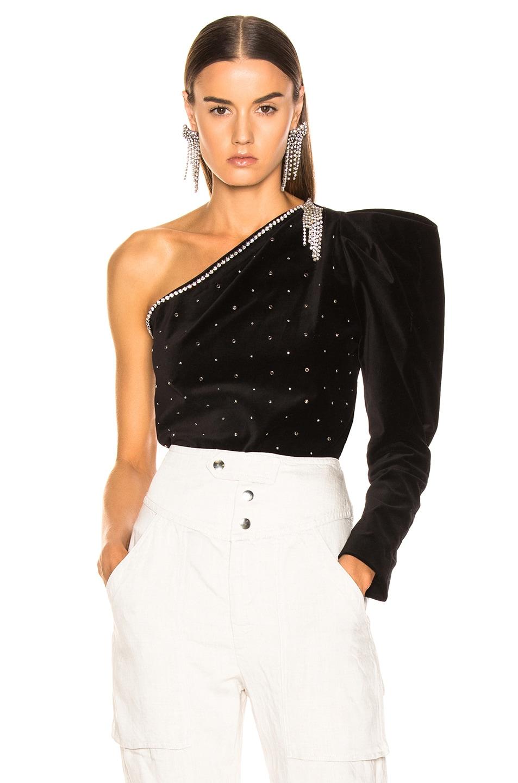 Image 1 of Isabel Marant Zeke Top in Black