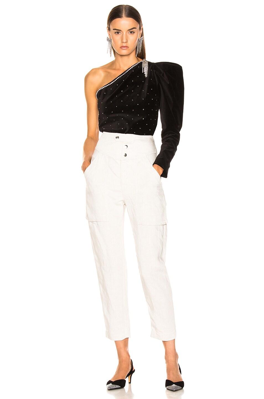 Image 6 of Isabel Marant Zeke Top in Black