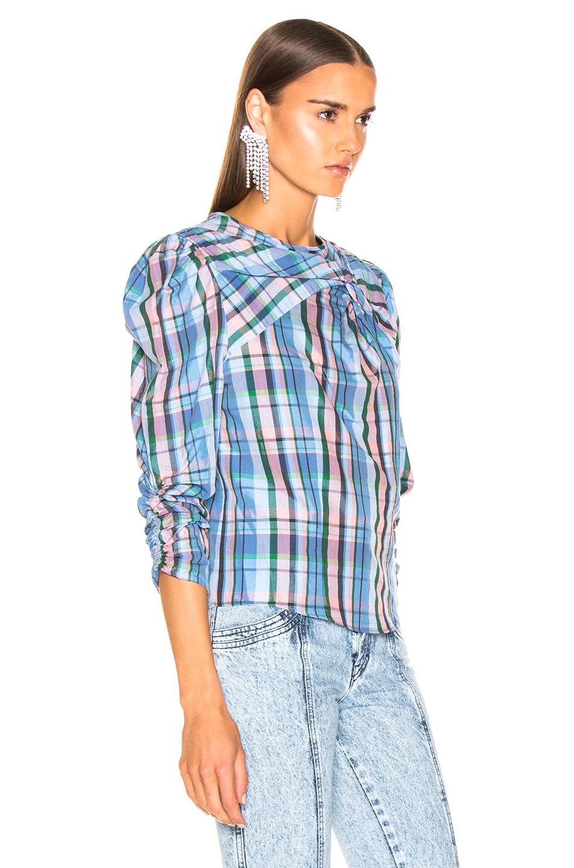 Image 2 of Isabel Marant Esmee Top in Blue