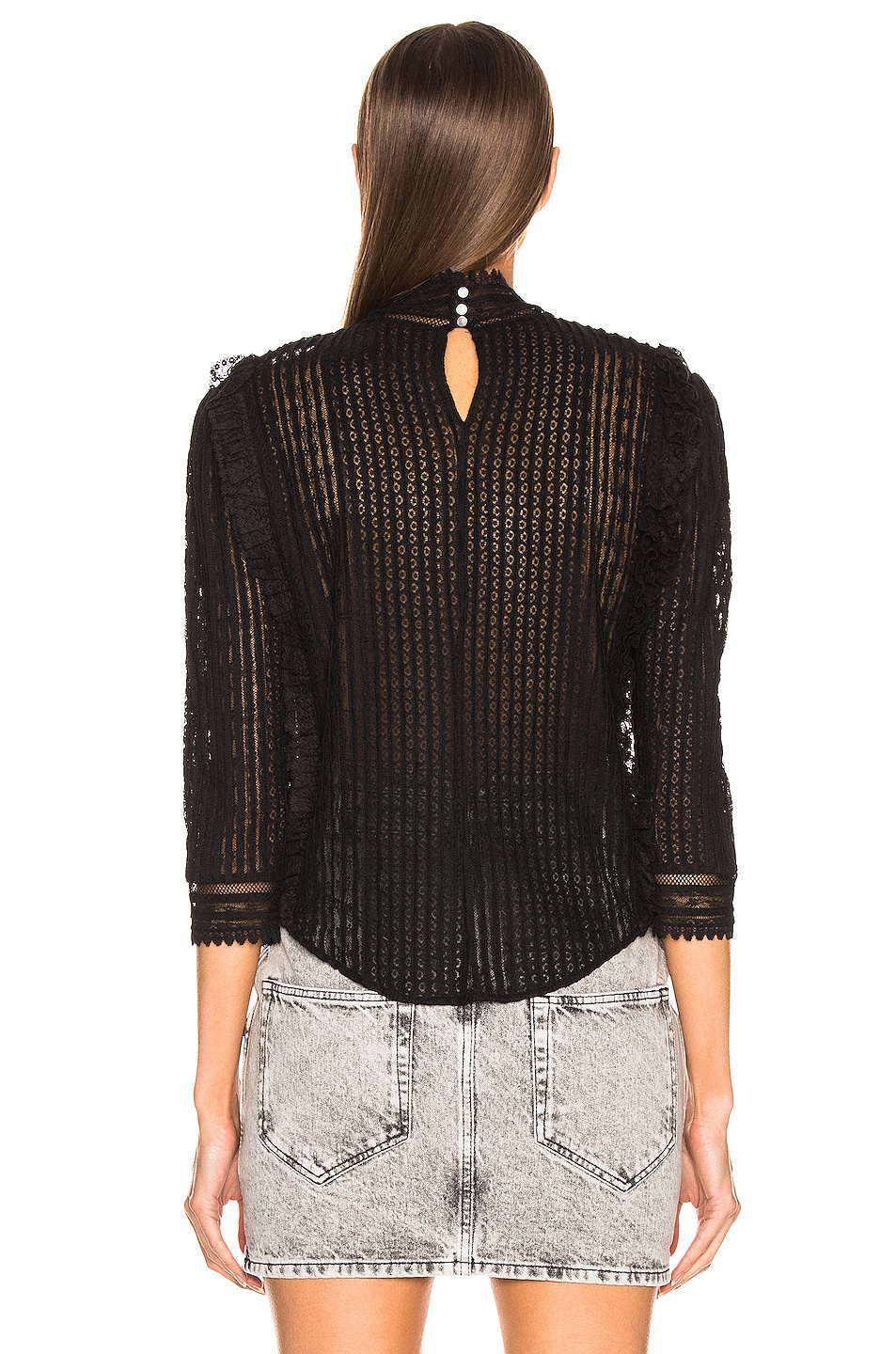 Image 4 of Isabel Marant Roscoe Top in Black