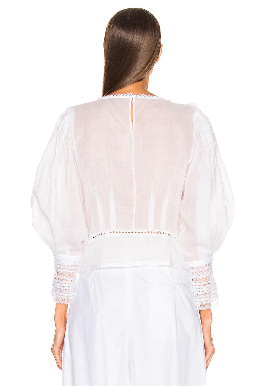 Image 4 of Isabel Marant Rosen Top in White