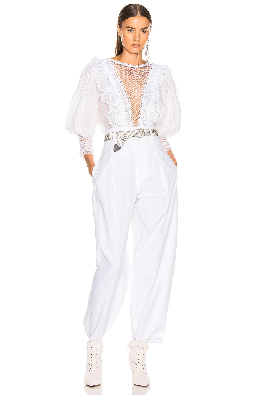 Image 5 of Isabel Marant Rosen Top in White