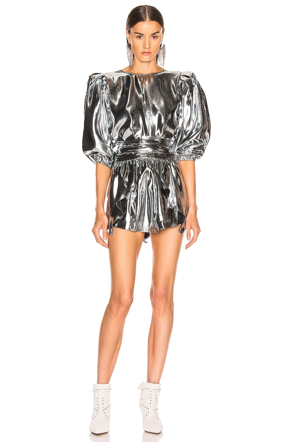 Image 5 of Isabel Marant Kyama Top in Silver