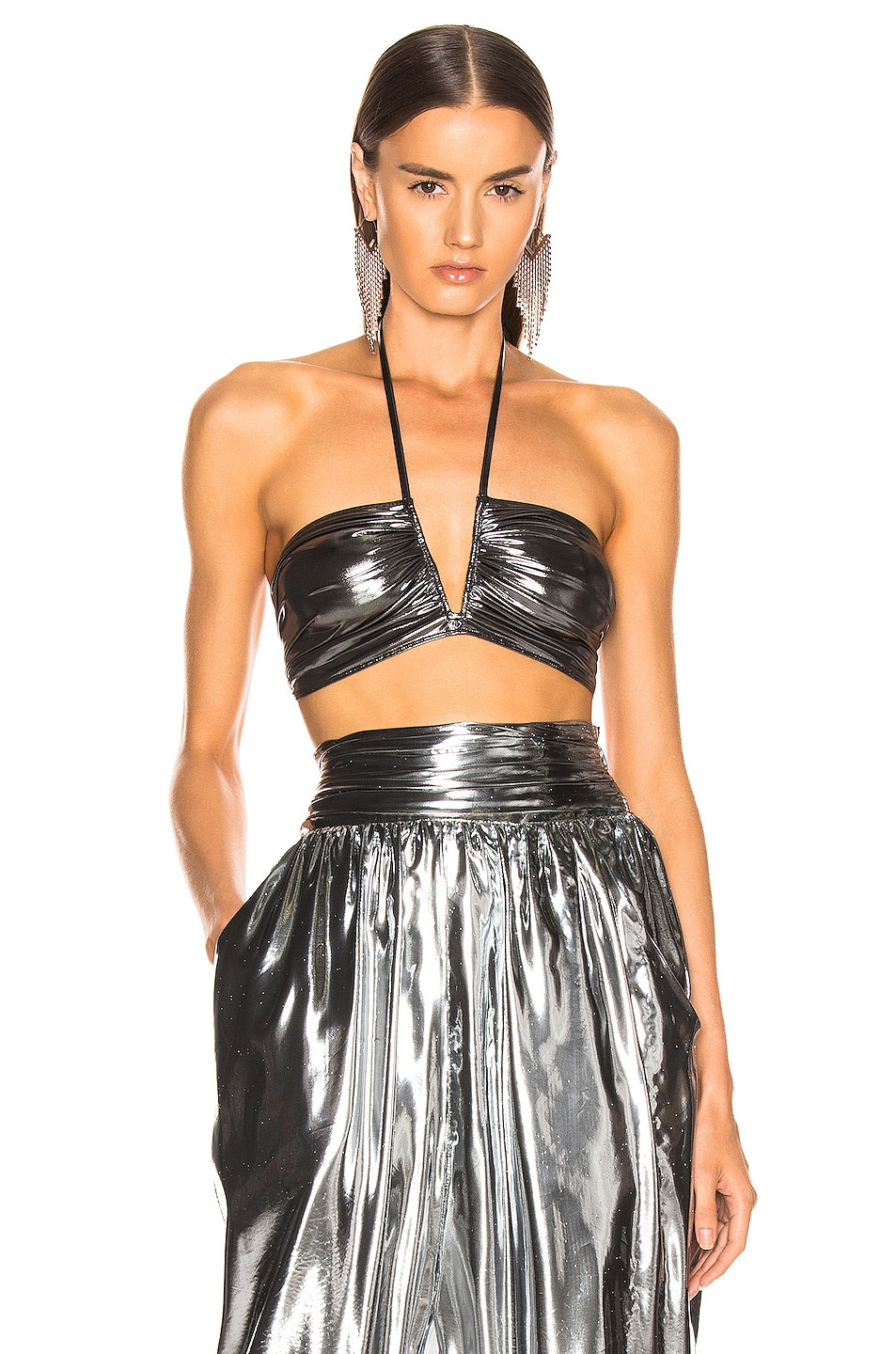 Image 1 of Isabel Marant Wana Top in Silver