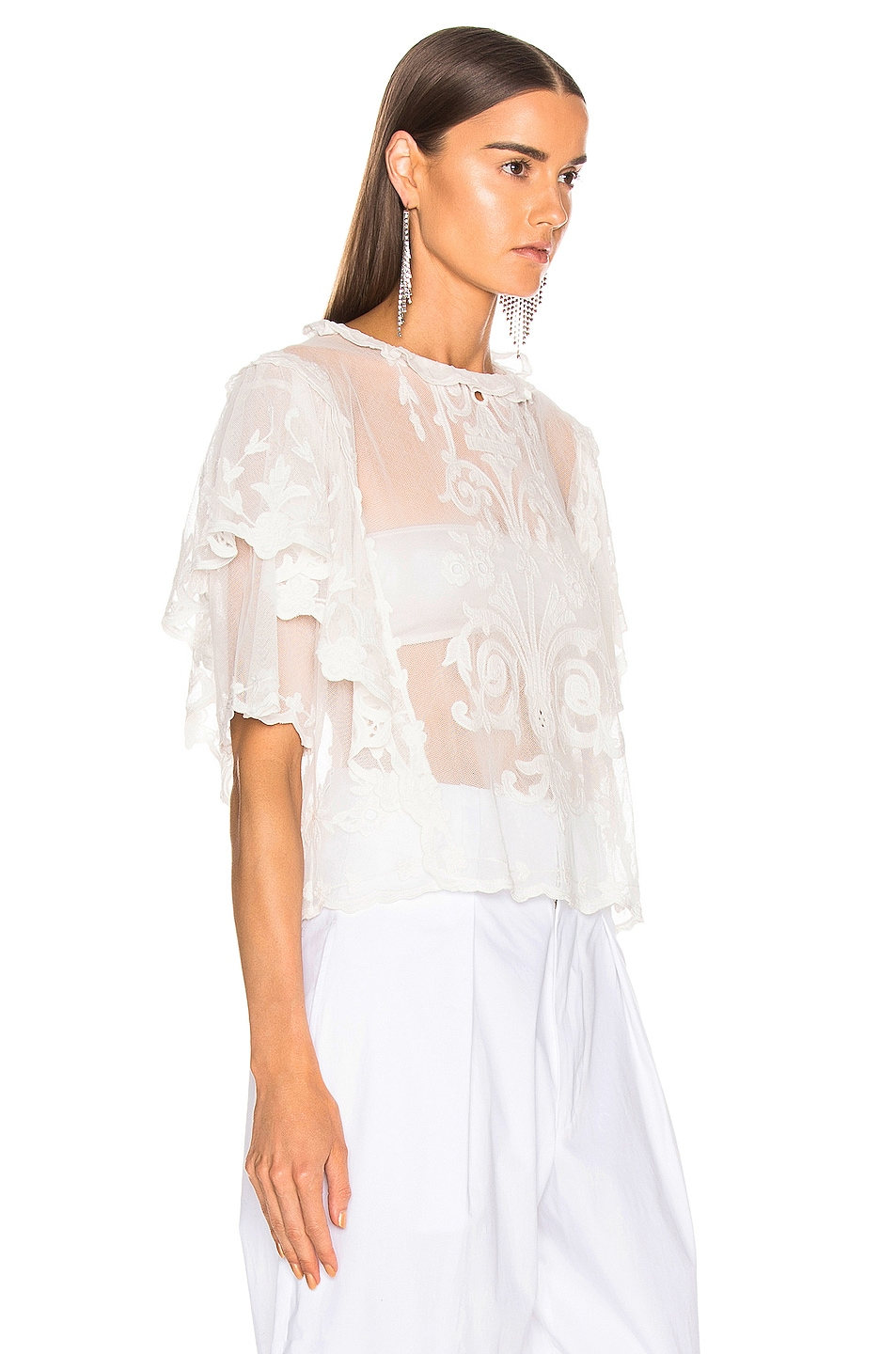 Image 2 of Isabel Marant Seal Top in White