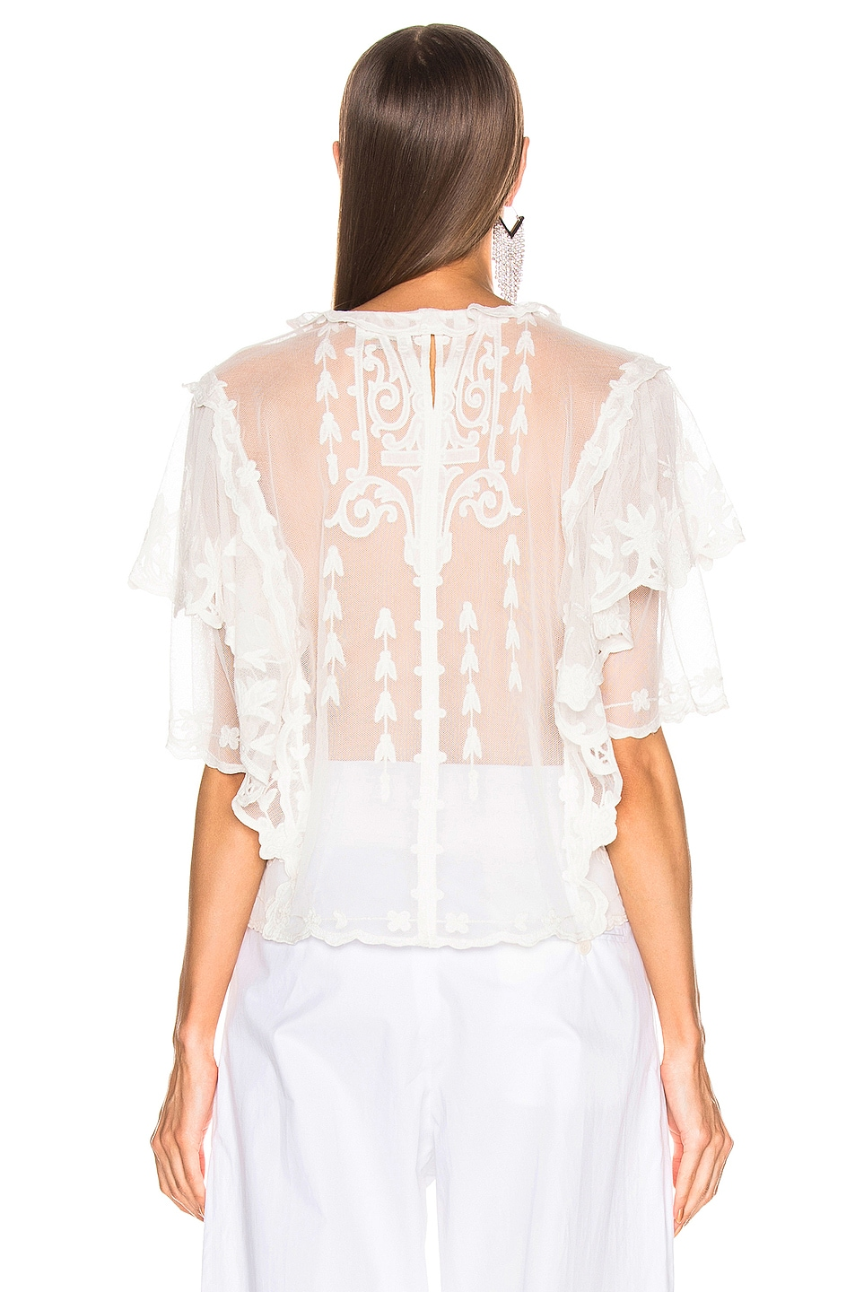 Image 3 of Isabel Marant Seal Top in White