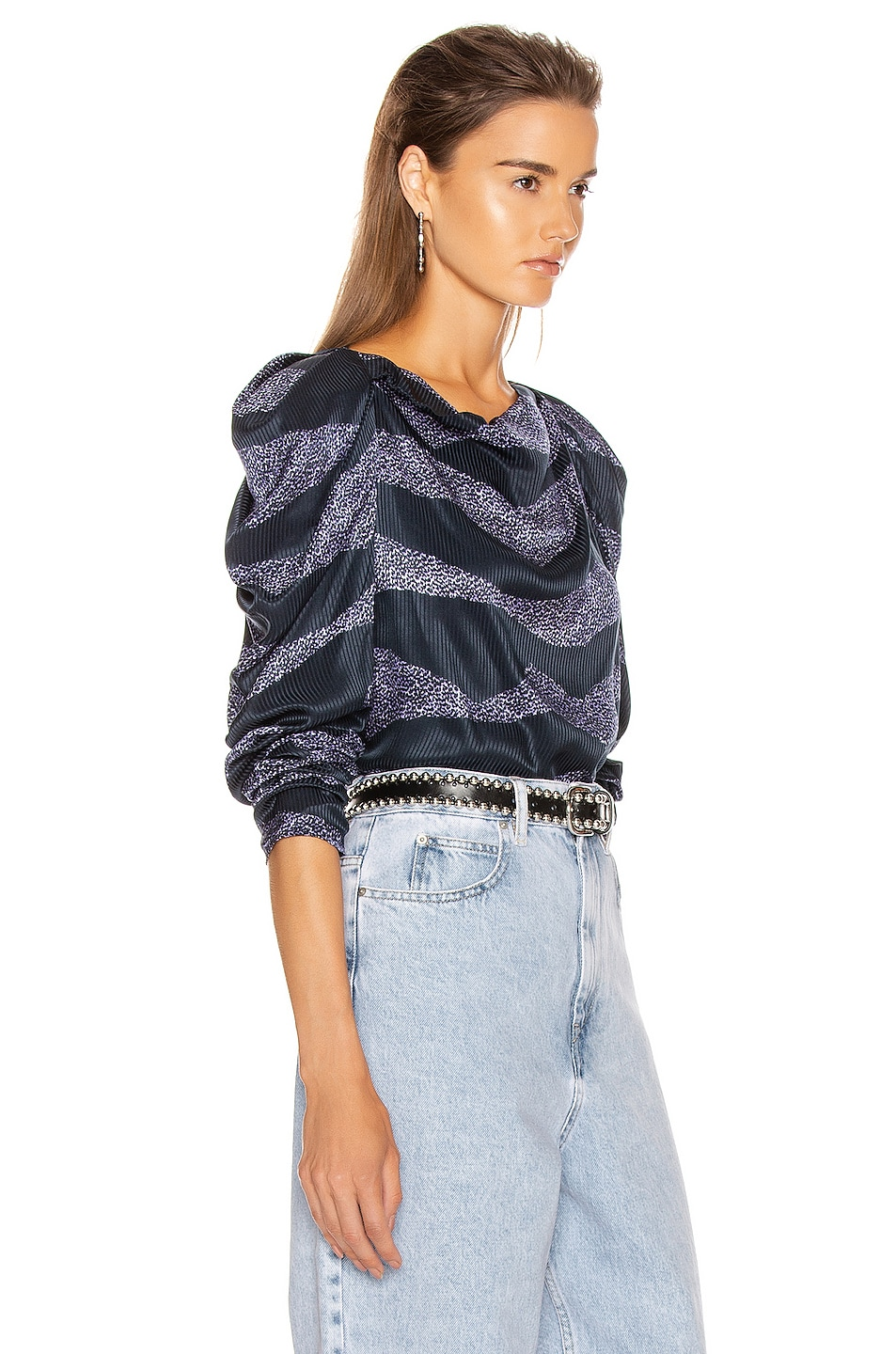 Image 2 of Isabel Marant Crem Top in Midnight