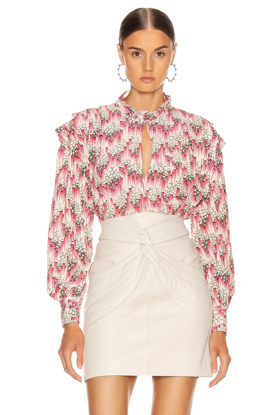Image 1 of Isabel Marant Ricky Blouse in Pink