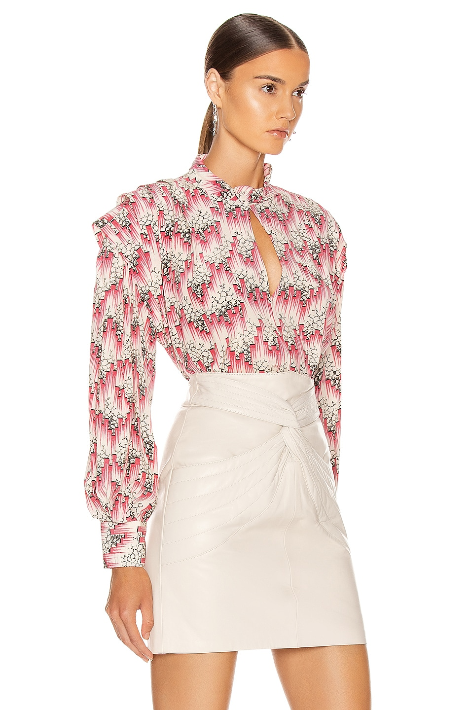 Image 2 of Isabel Marant Ricky Blouse in Pink