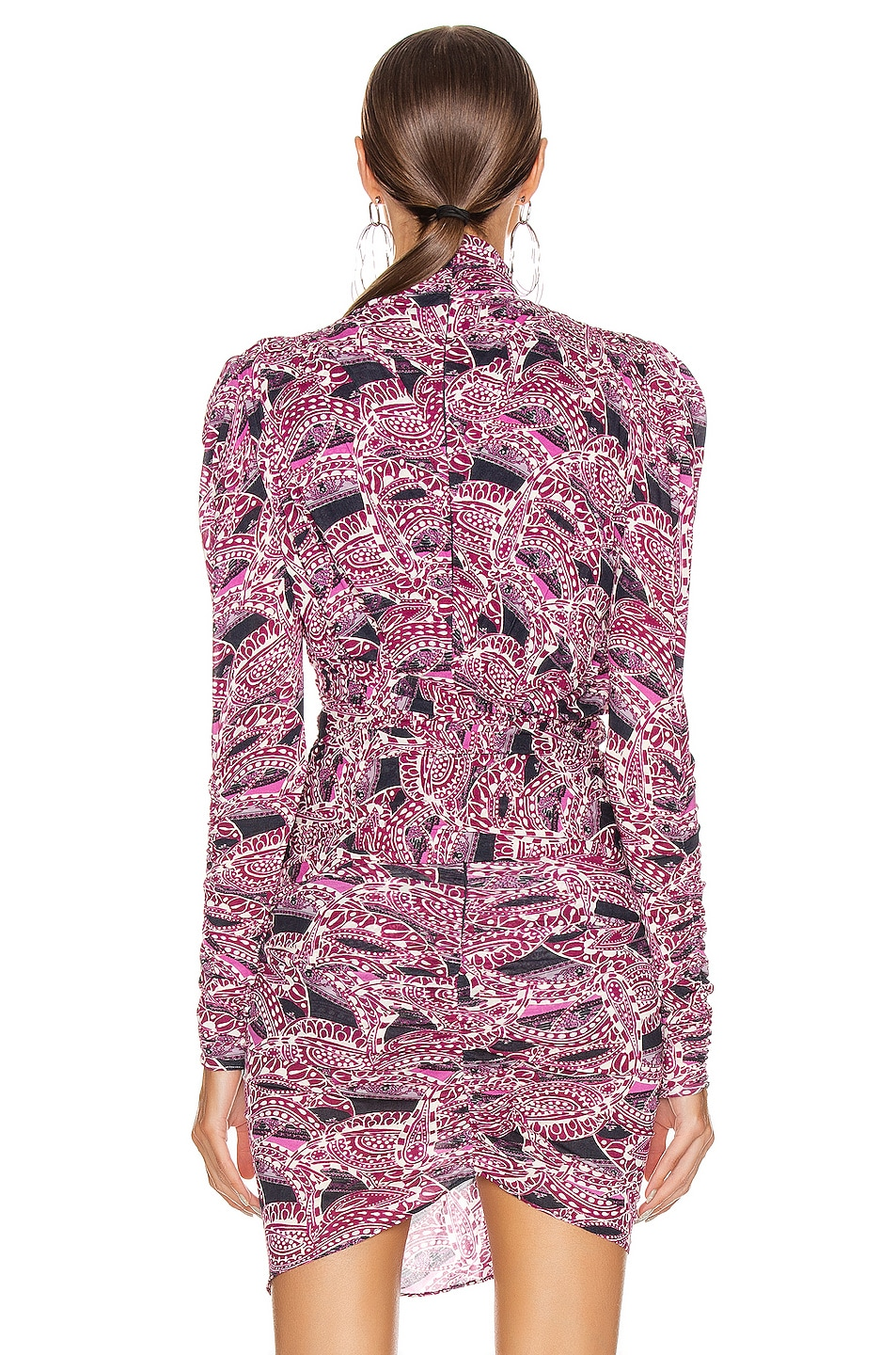 Image 3 of Isabel Marant Jalford Top in Pink & Blue