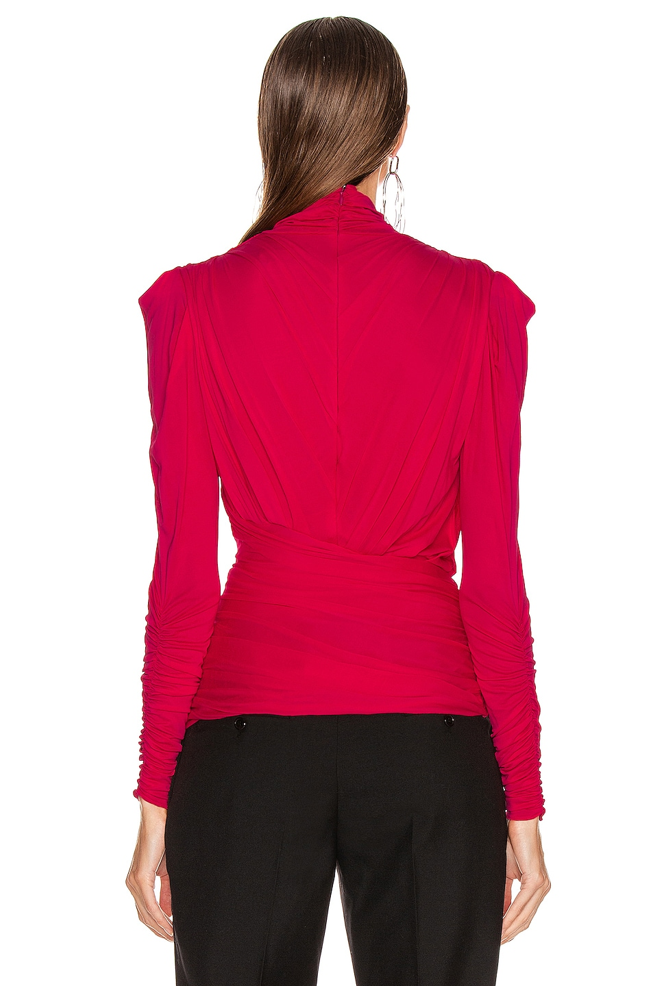 Image 3 of Isabel Marant Jalford Top in Neon Pink