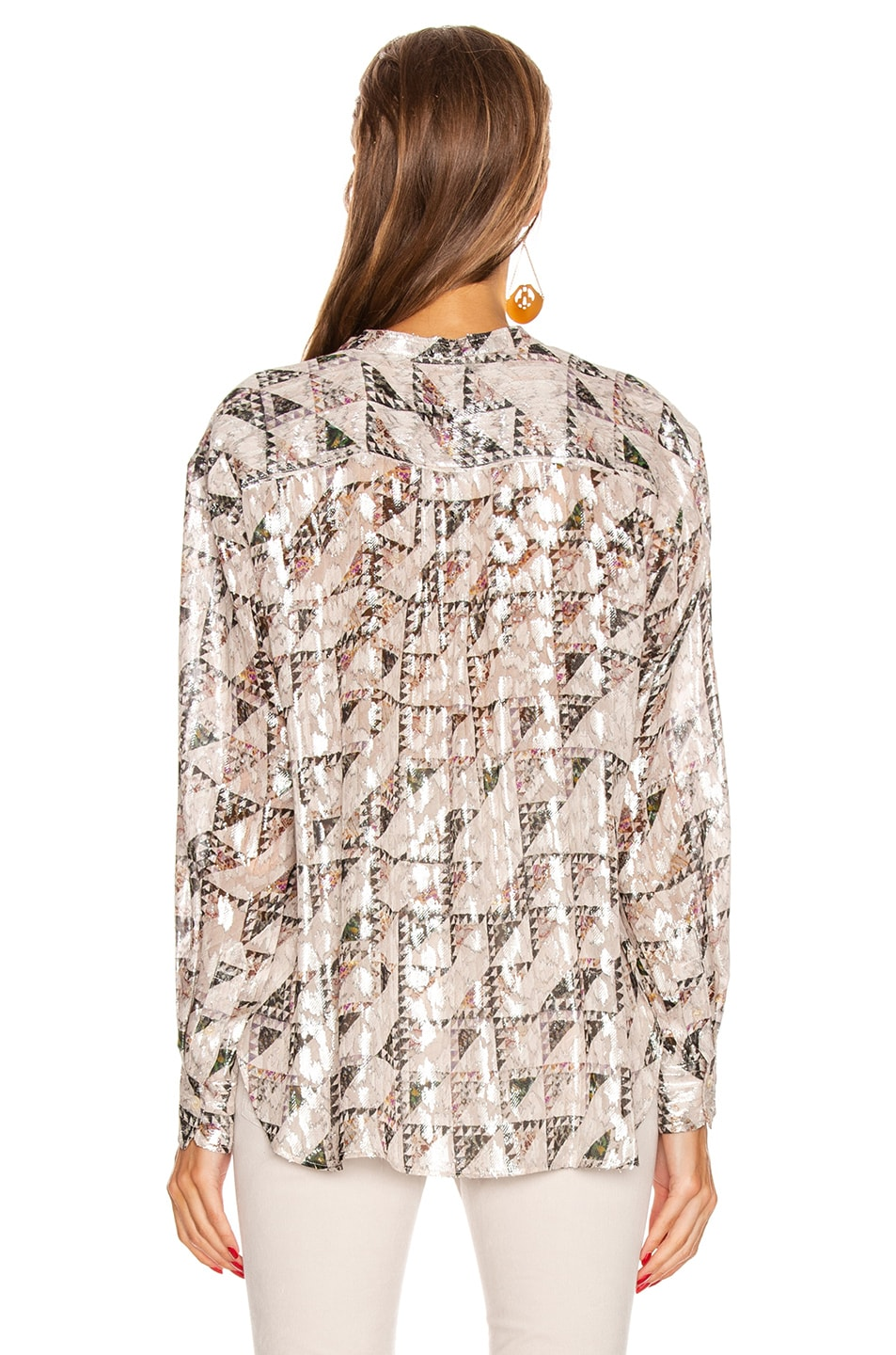 Image 3 of Isabel Marant Daws Top in Ecru