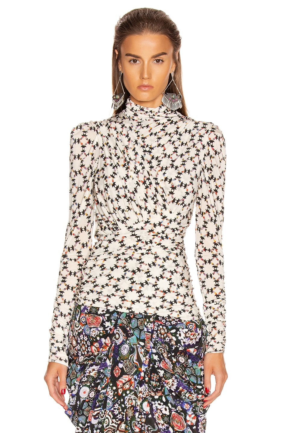 Image 2 of Isabel Marant Jalford Top in Ecru