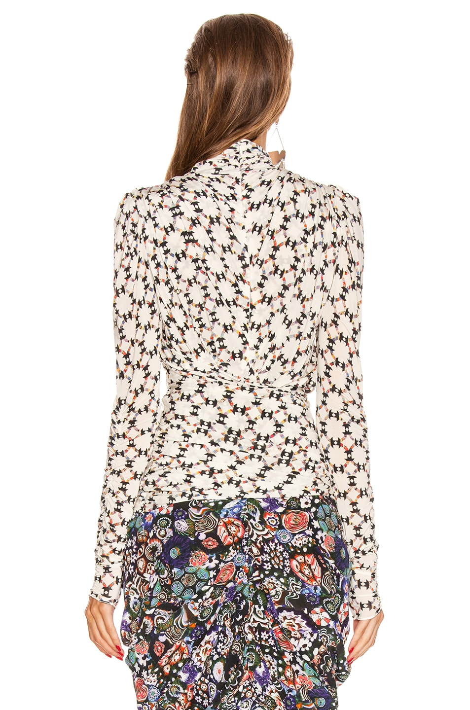 Image 4 of Isabel Marant Jalford Top in Ecru