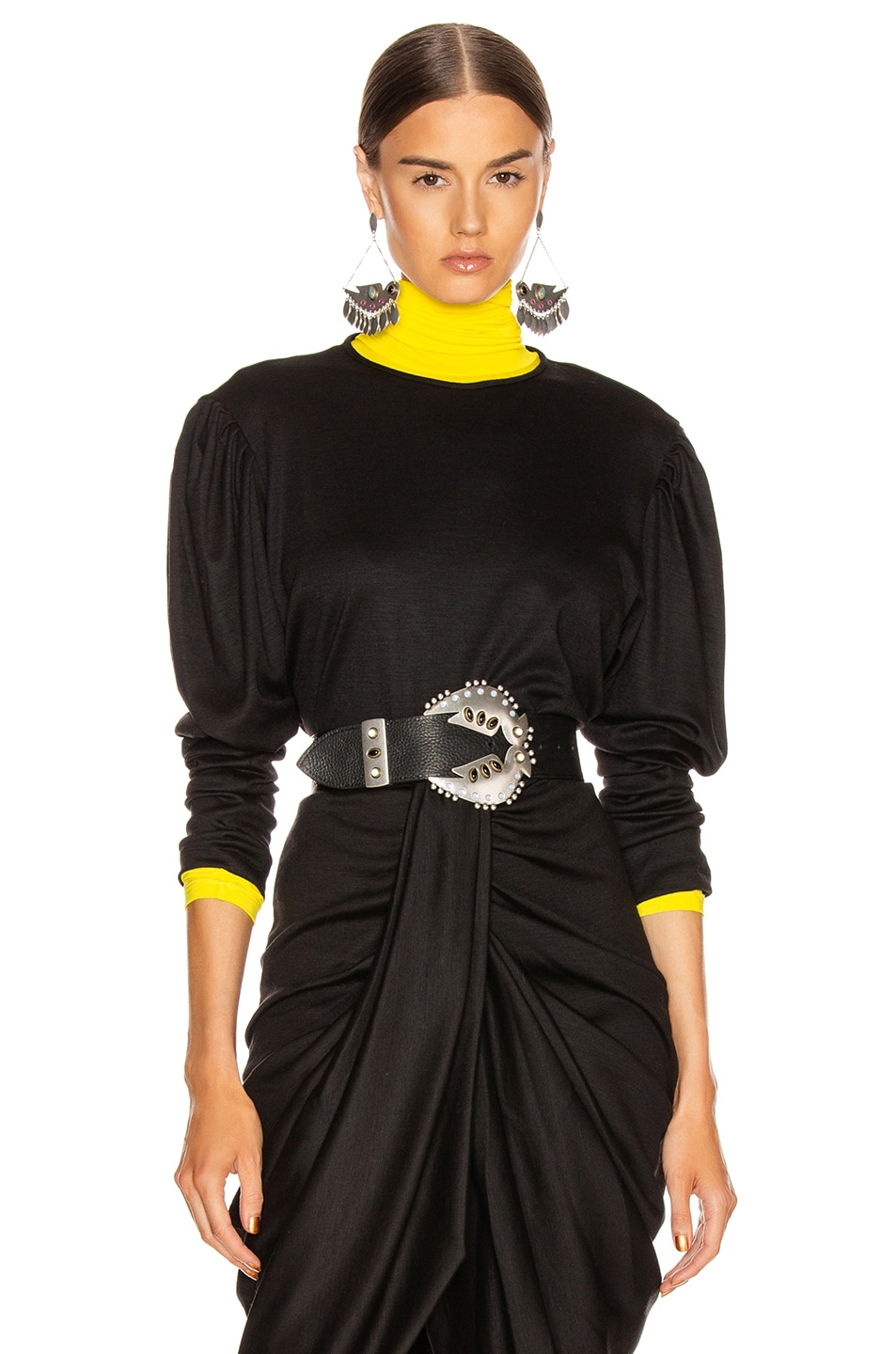 Image 1 of Isabel Marant Davallia Top in Black
