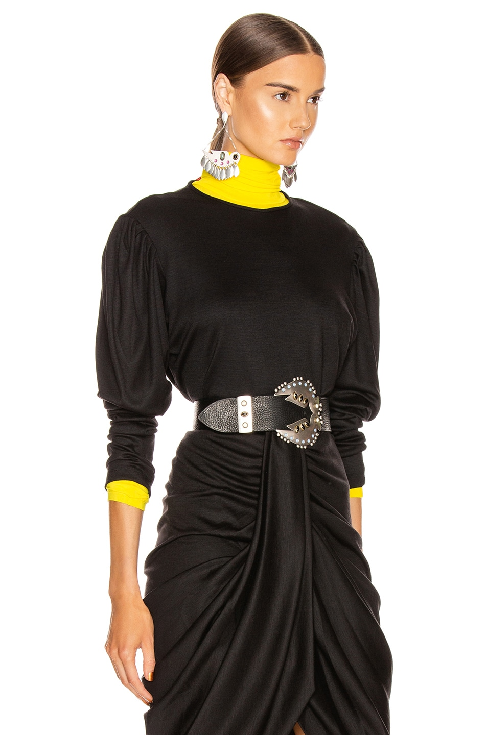 Image 3 of Isabel Marant Davallia Top in Black