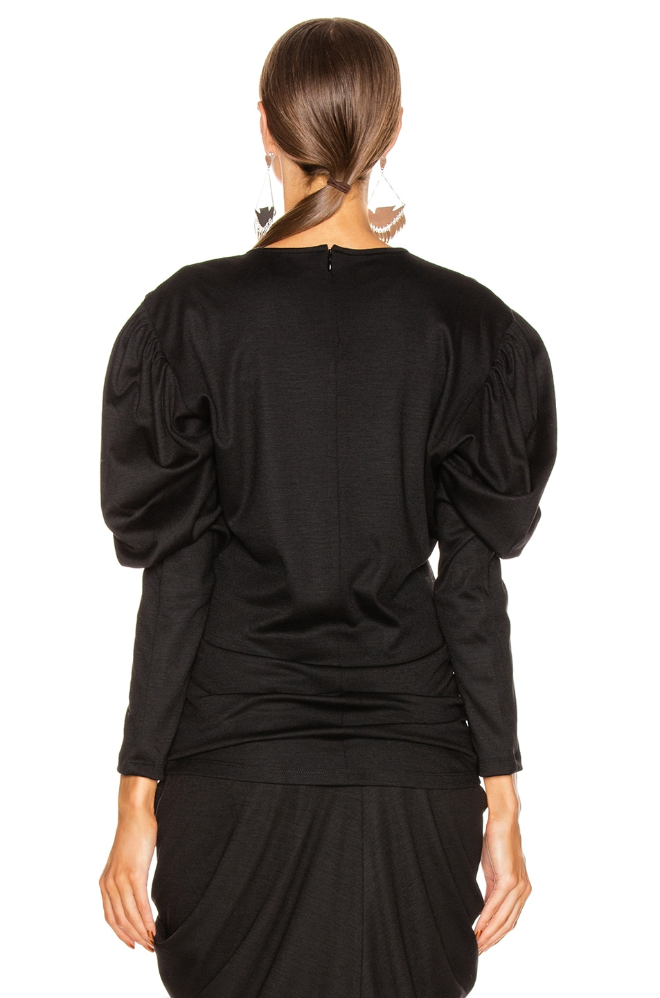 Image 4 of Isabel Marant Davallia Top in Black