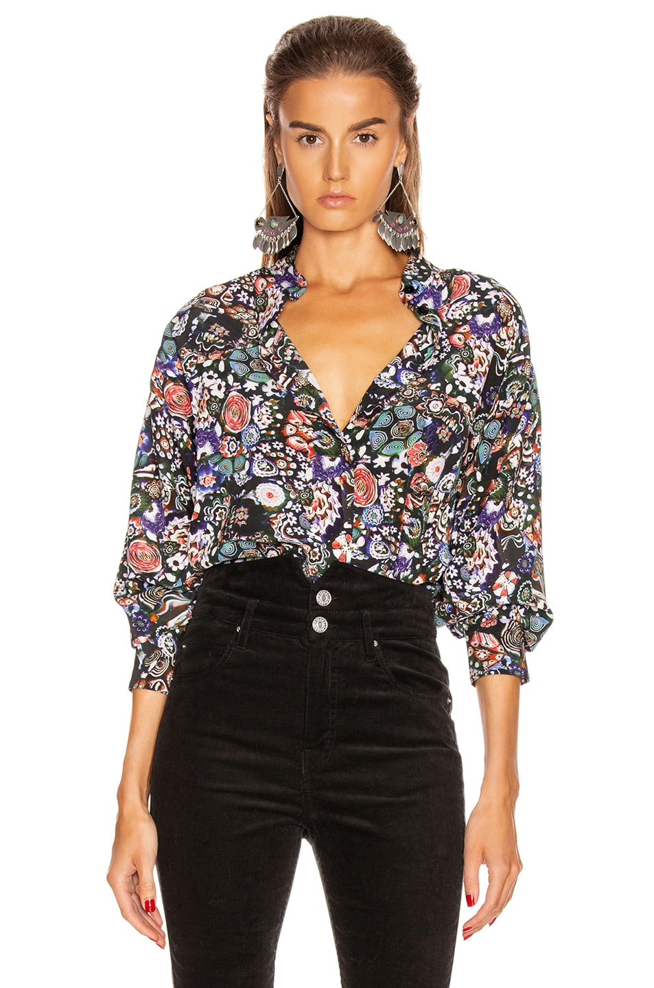 Image 1 of Isabel Marant Cade Top in Black