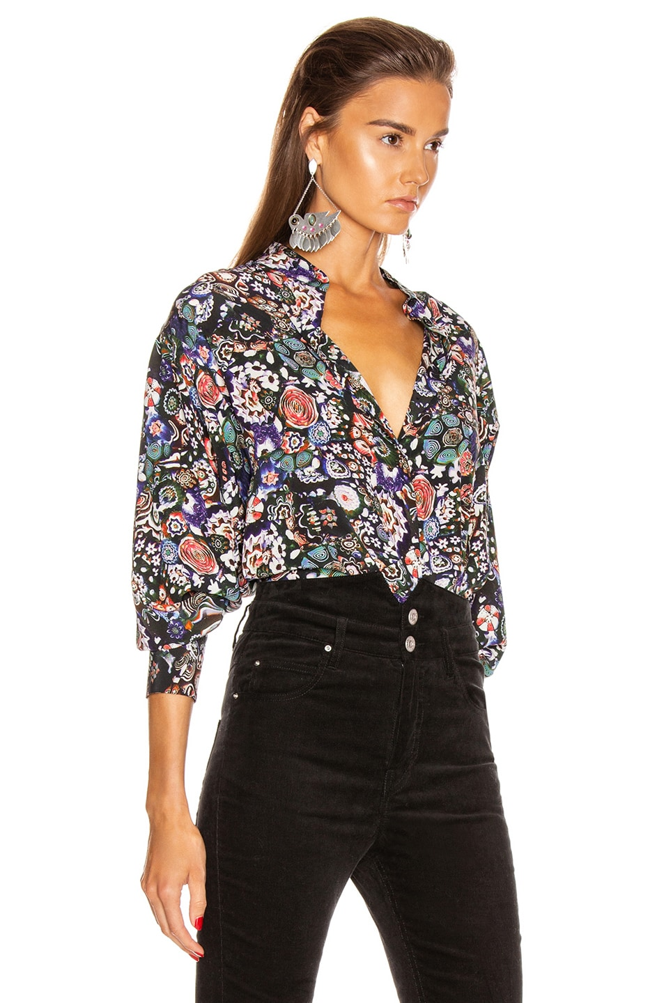 Image 2 of Isabel Marant Cade Top in Black