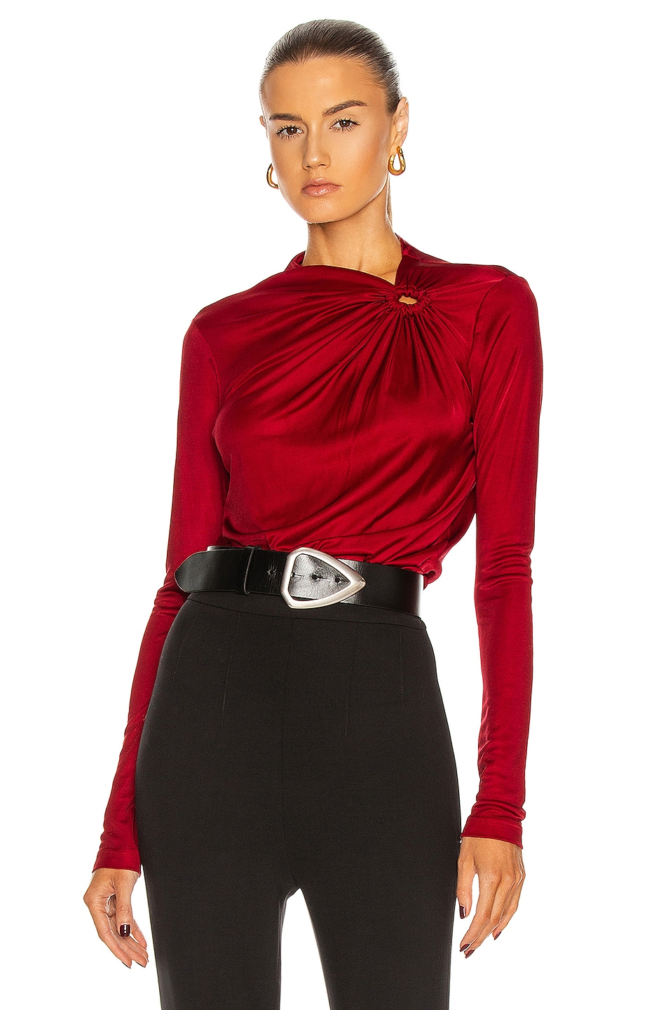 Image 1 of Isabel Marant Dwester Top in Red