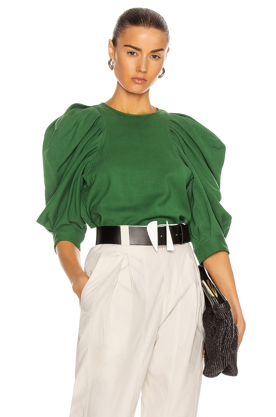Image 1 of Isabel Marant Surya Top in Green