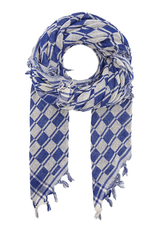 Image 1 of Isabel Marant Tasma Silk Scarf in Blue