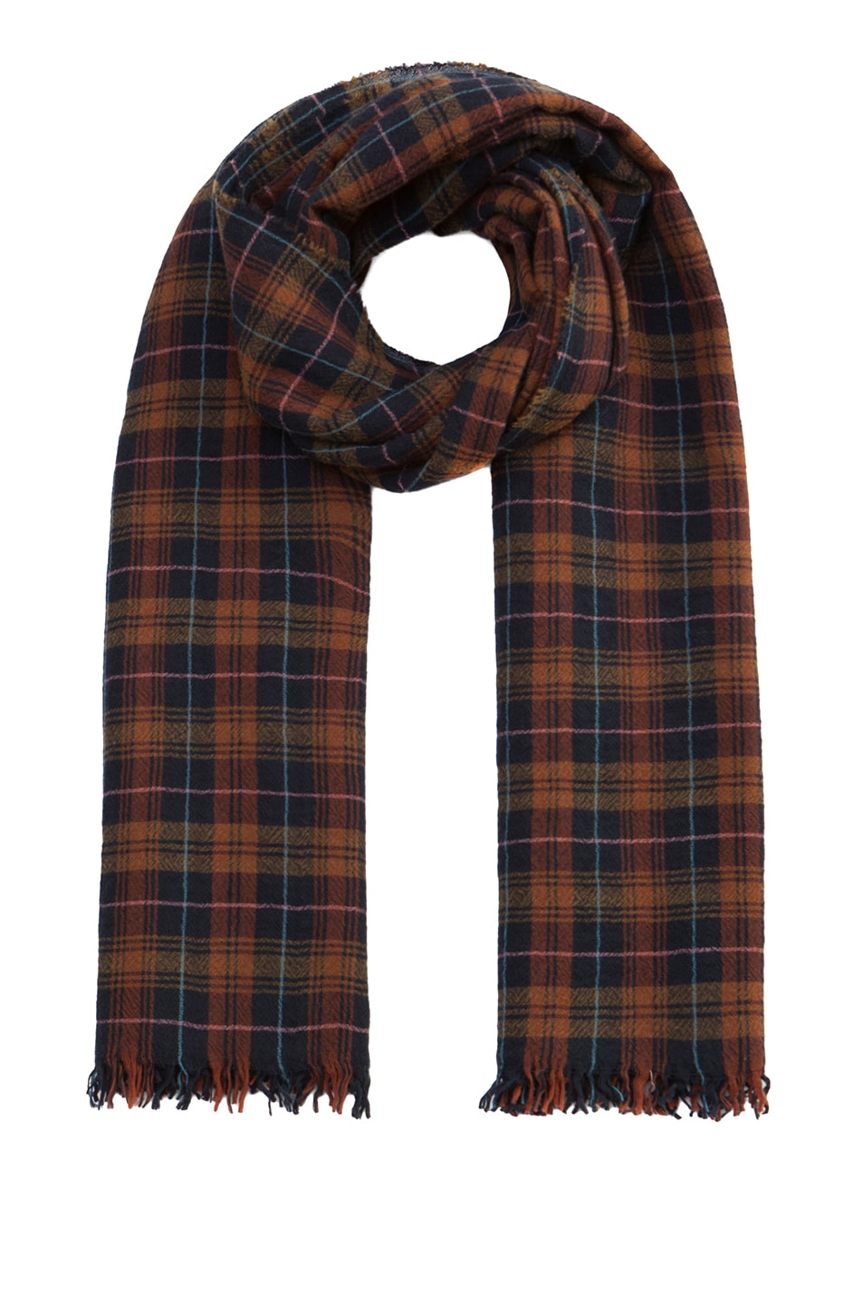 Image 1 of Isabel Marant Alban Scarf in Brick