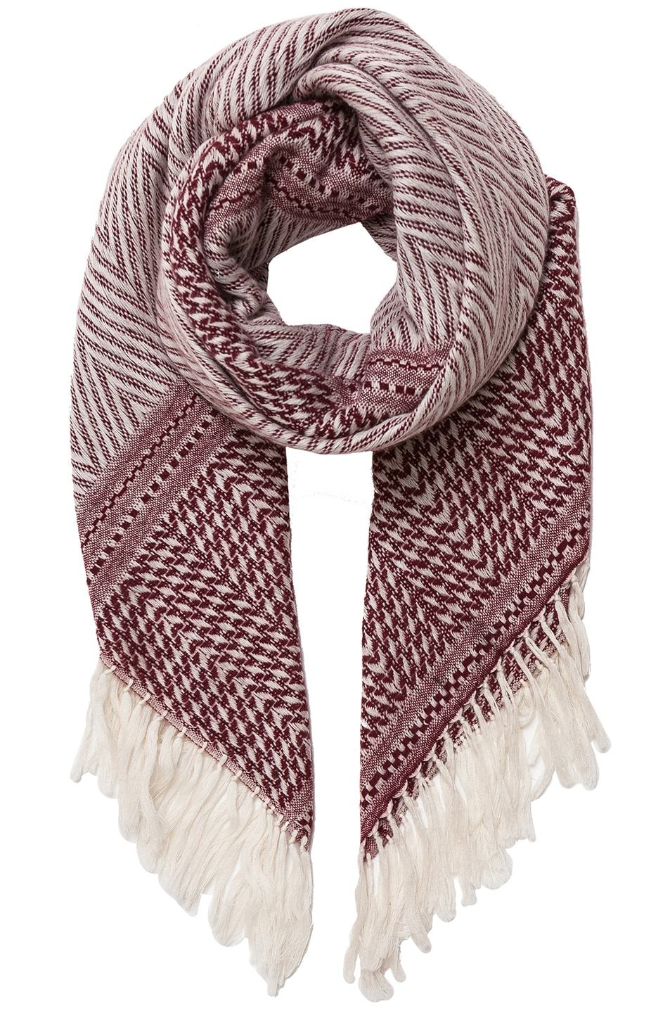 Image 1 of Isabel Marant Clemence Scarf in Burgundy
