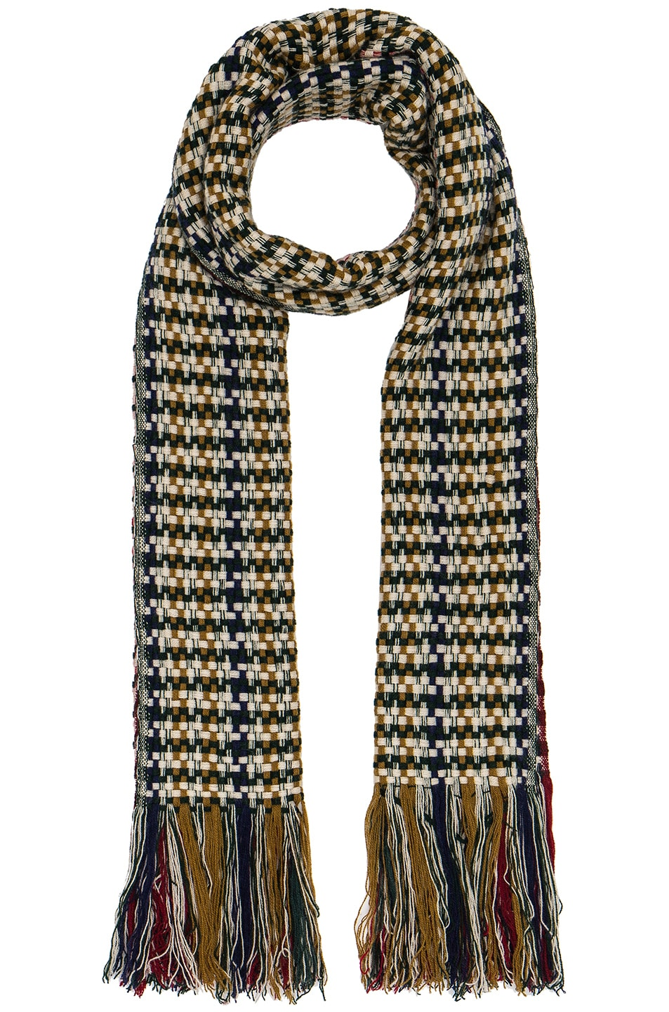 Image 1 of Isabel Marant Alva Daddy Scarf in Multi