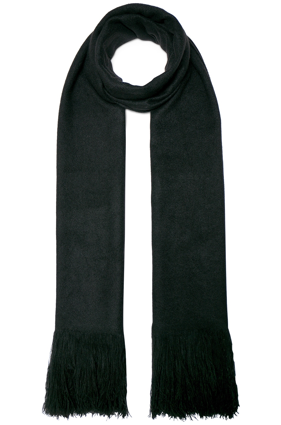 Image 1 of Isabel Marant Carlyn Blanket Scarf in Black