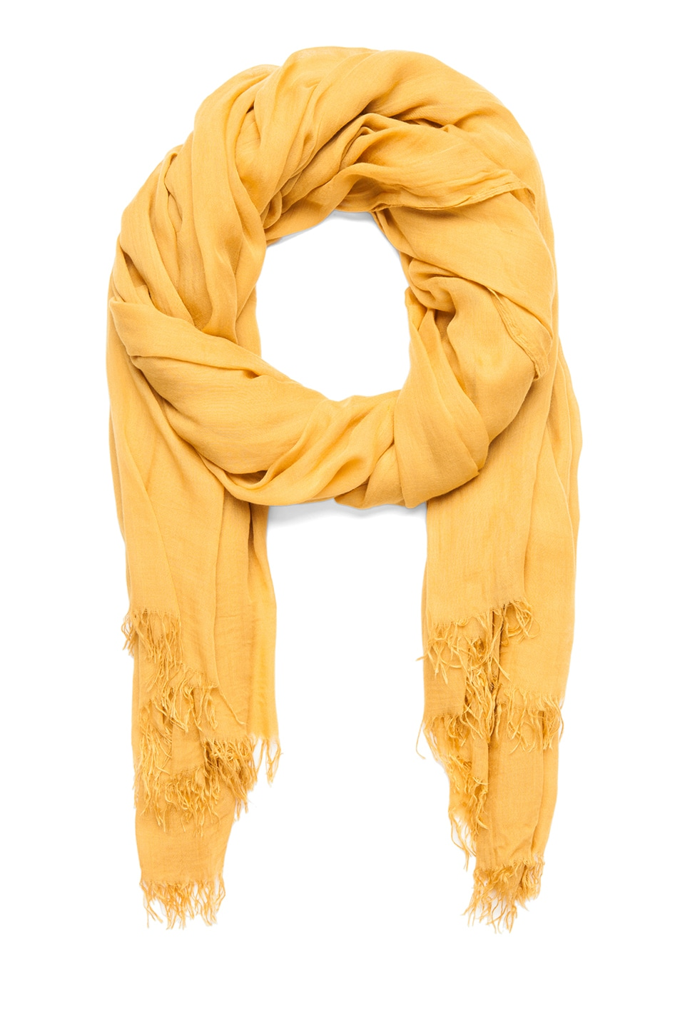 Image 1 of Isabel Marant Jepson Smoothie Chic Scarf in Curry