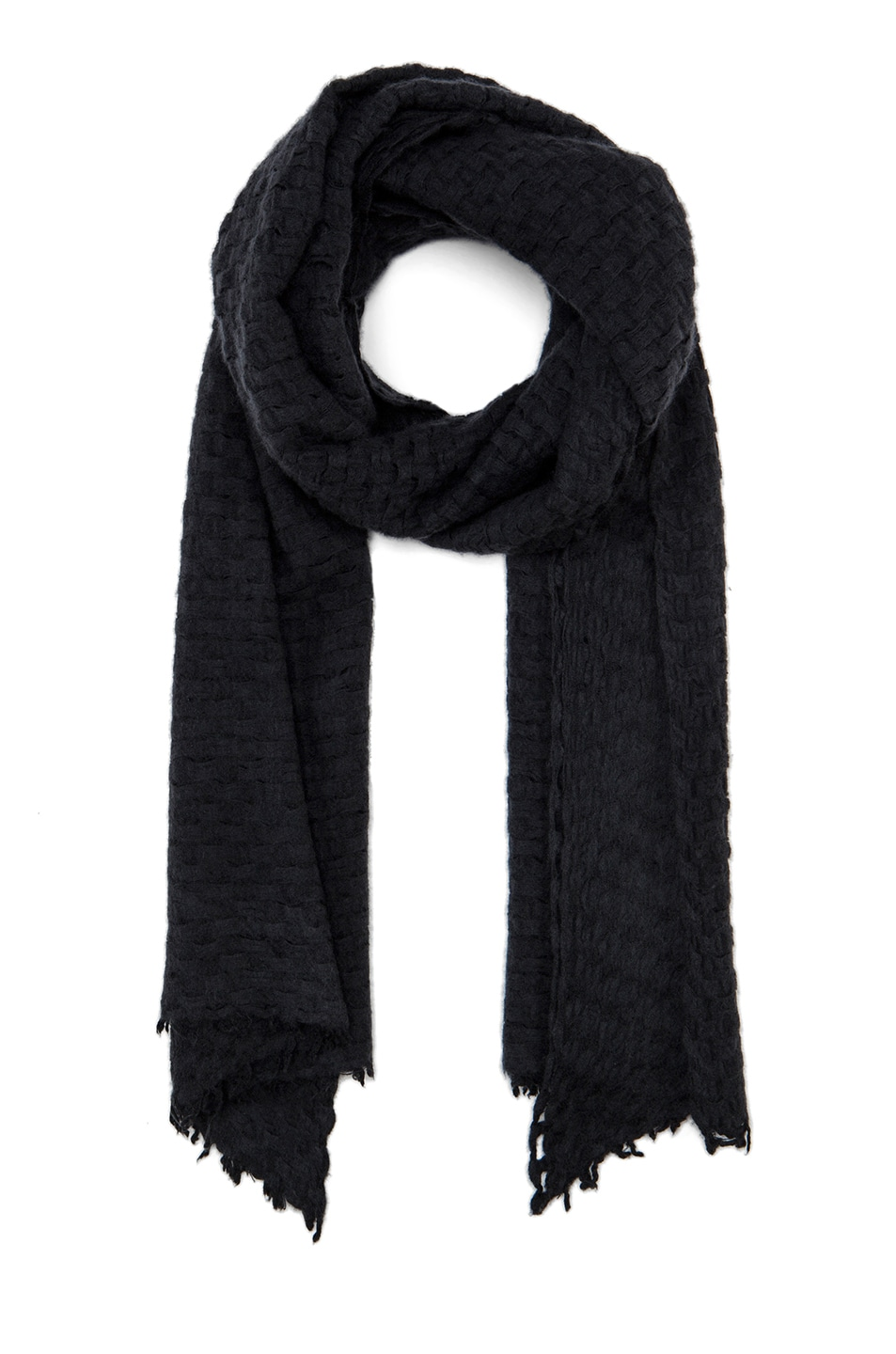Image 1 of Isabel Marant Brunella Cashmere Scarf in Black
