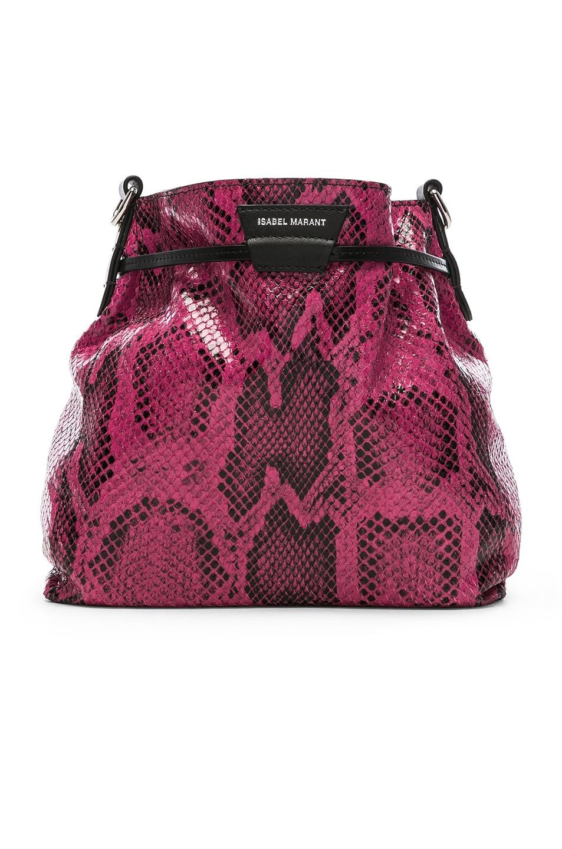 Image 3 of Isabel Marant Beeka Bag in Raspberry