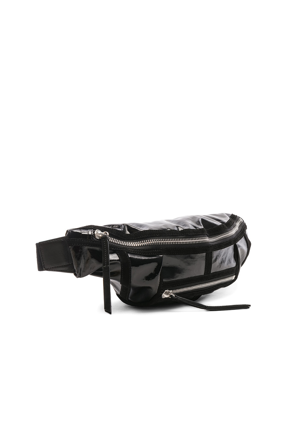 Image 4 of Isabel Marant Noomi Fanny Pack in Black