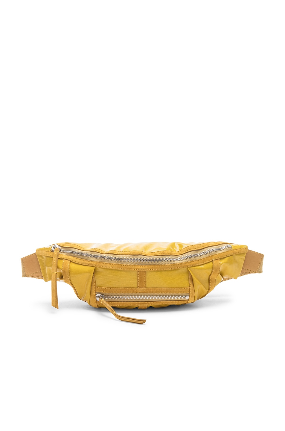 Image 1 of Isabel Marant Noomi Fanny Pack in Yellow