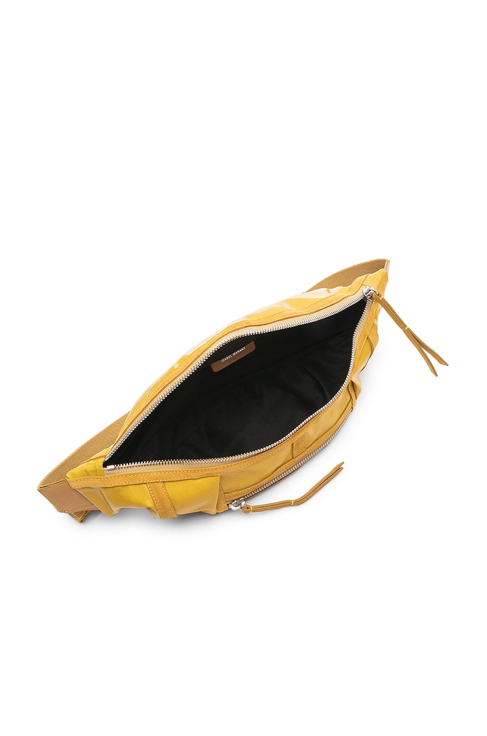 Image 5 of Isabel Marant Noomi Fanny Pack in Yellow