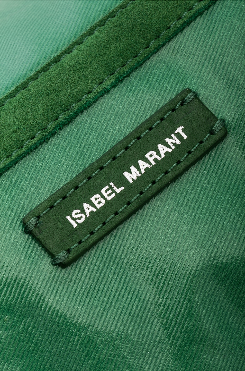 Image 6 of Isabel Marant Noomi Fanny Pack in Green