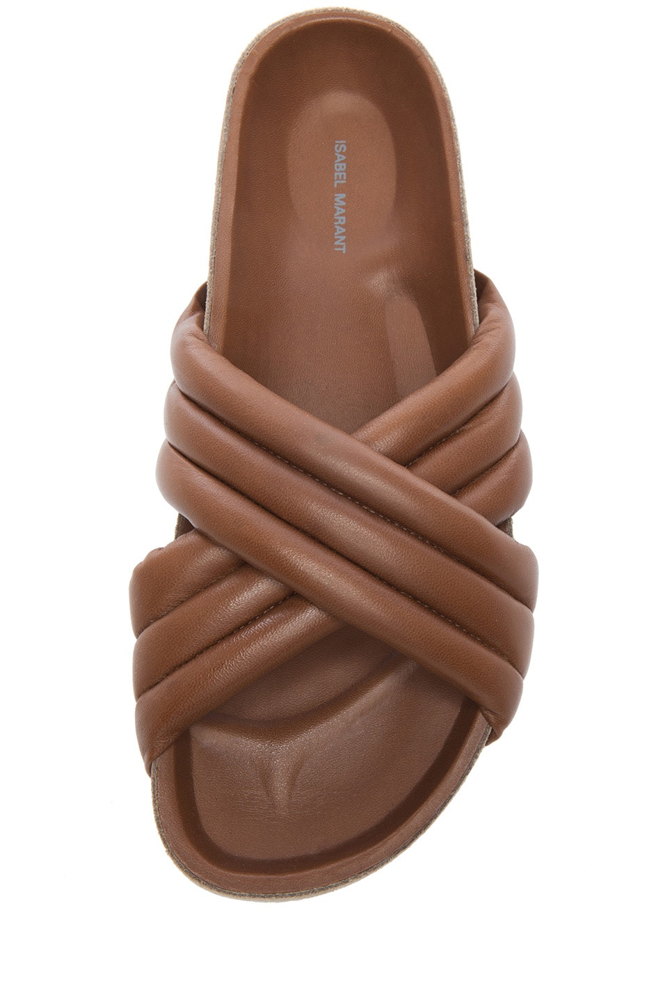 Image 4 of Isabel Marant Holden Leather Sandals in Brown