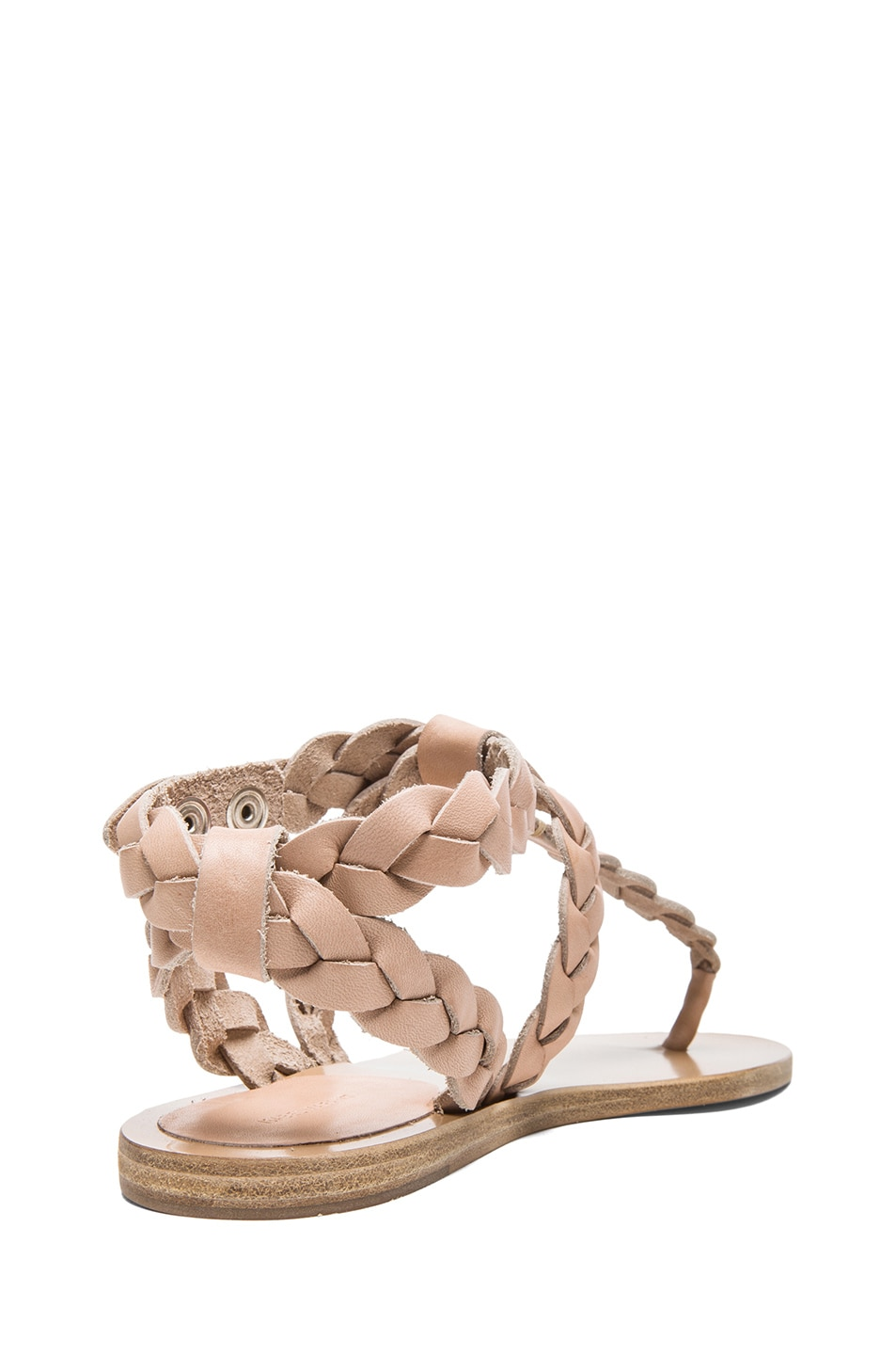 Isabel Marant Braided Leather Sandals sale choice sale 2014 where can you find K2eTwAJh7
