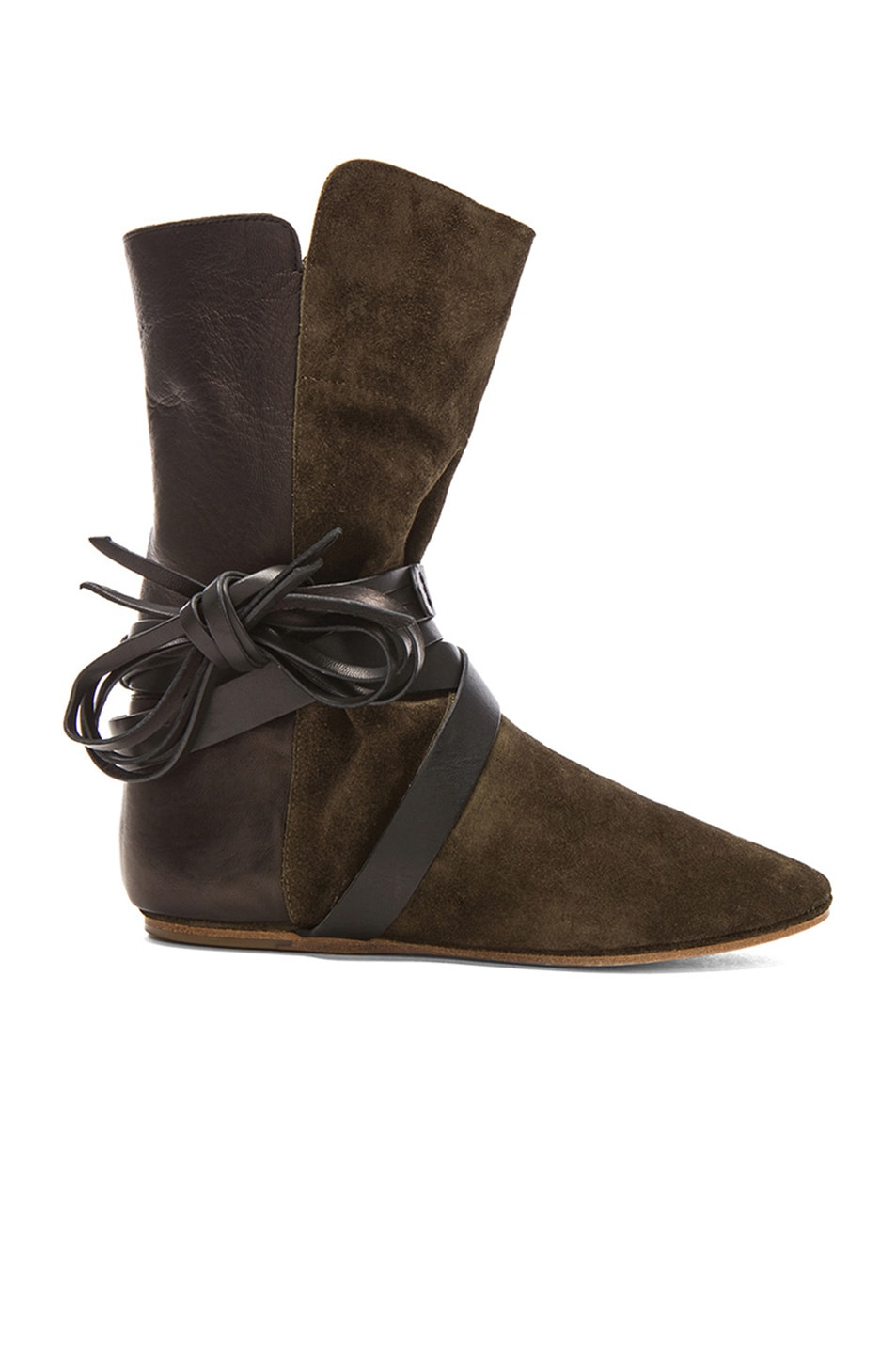 Image 1 of Isabel Marant Nira Couture Boots in Bronze