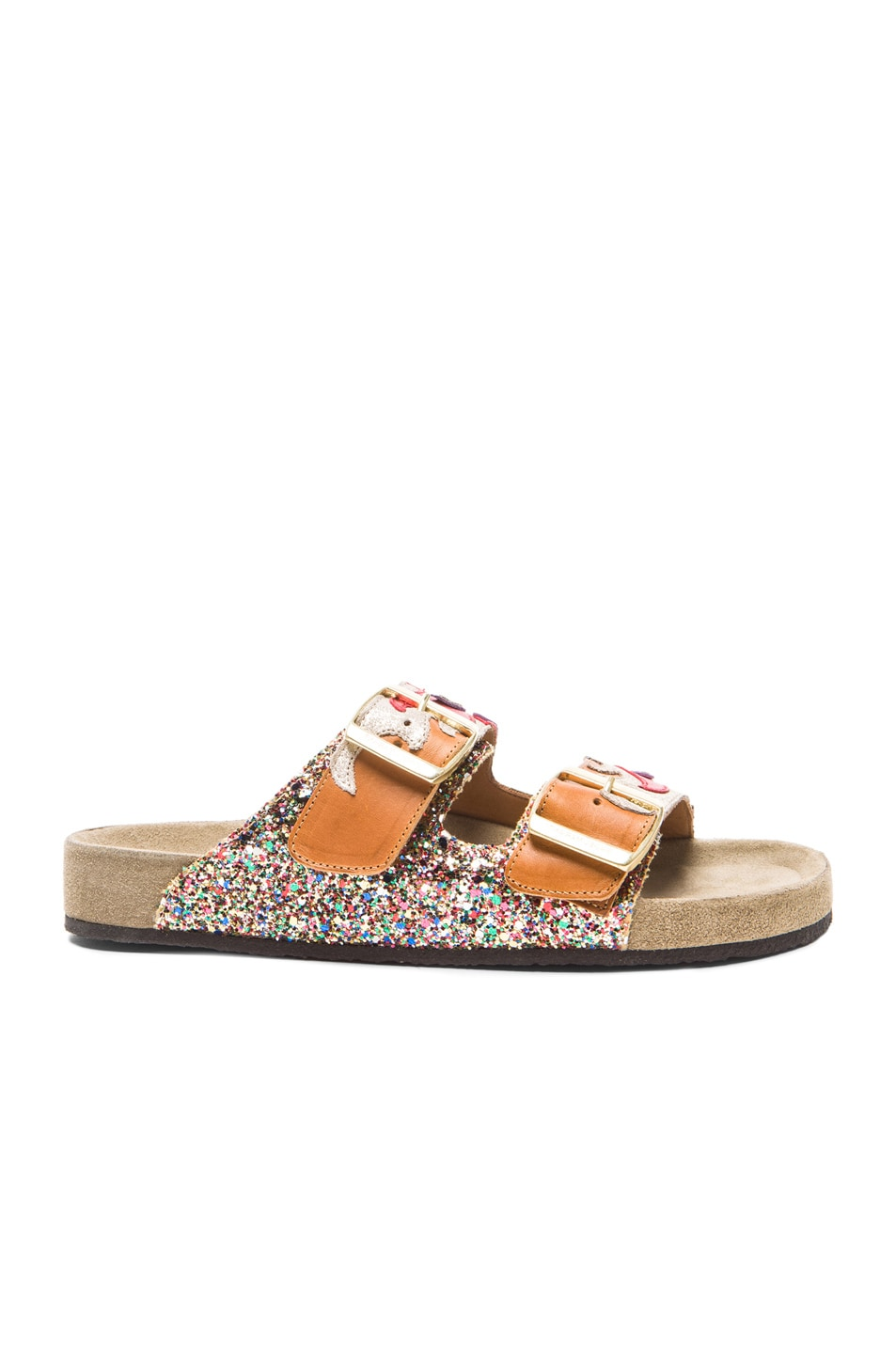 Image 1 of Isabel Marant Gail Cholita Leather Sandals in Multi