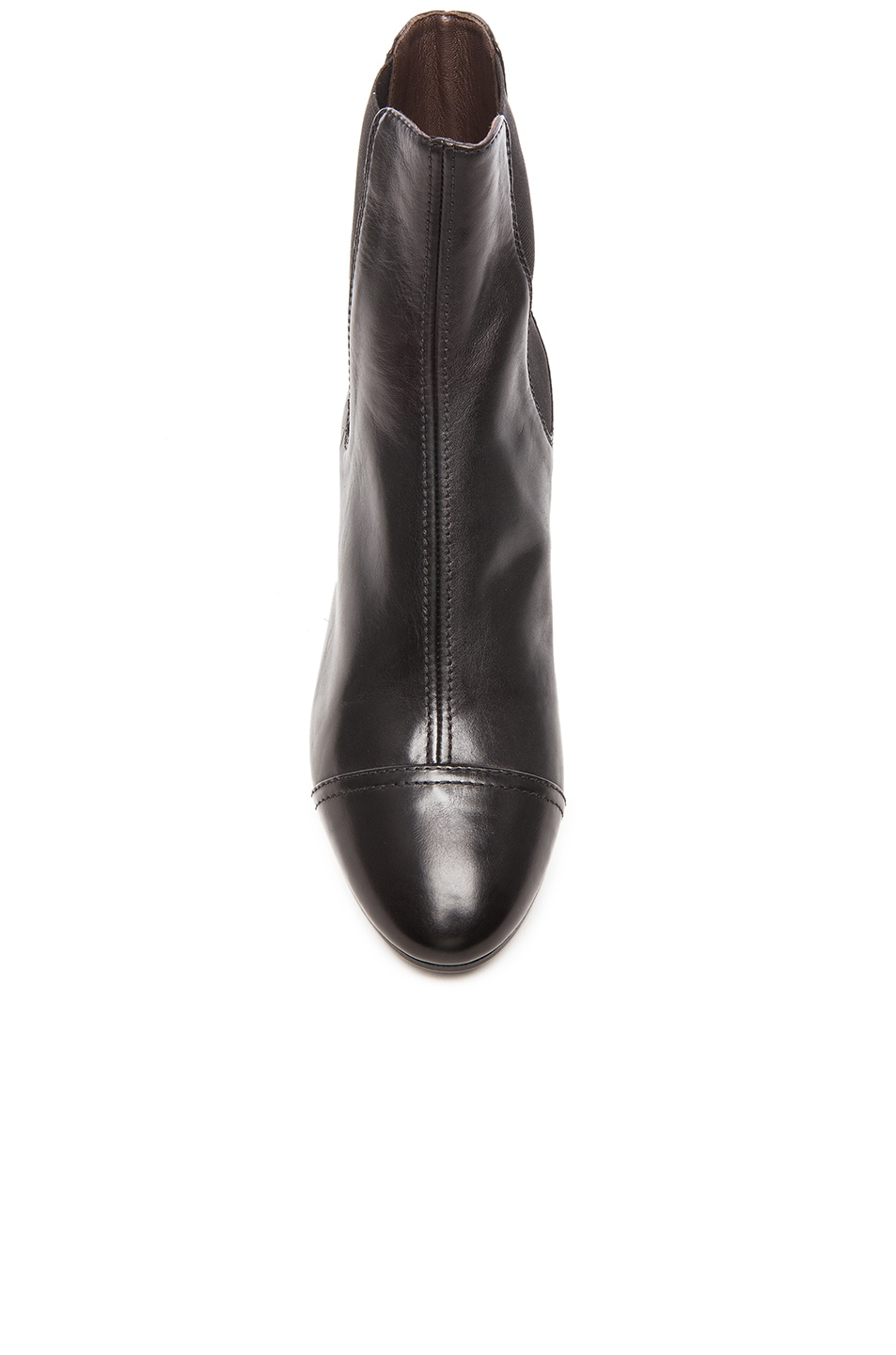 Image 4 of Isabel Marant Danae Chelsea Leather Boots in Black