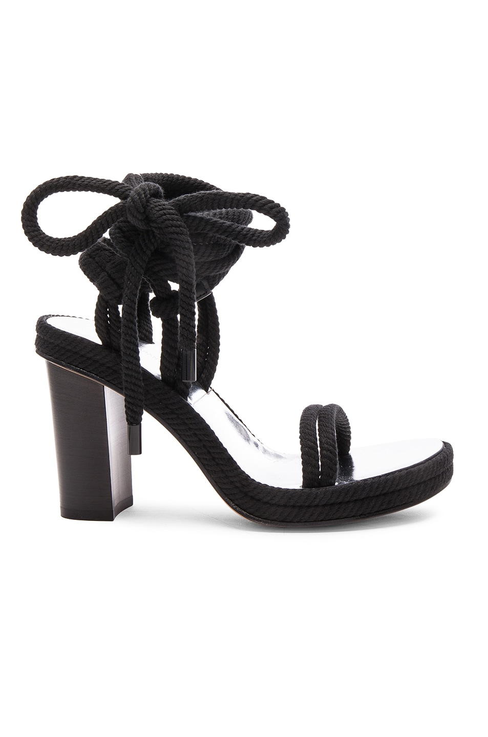 Image 1 of Isabel Marant Macylli Tasman Heels in Black