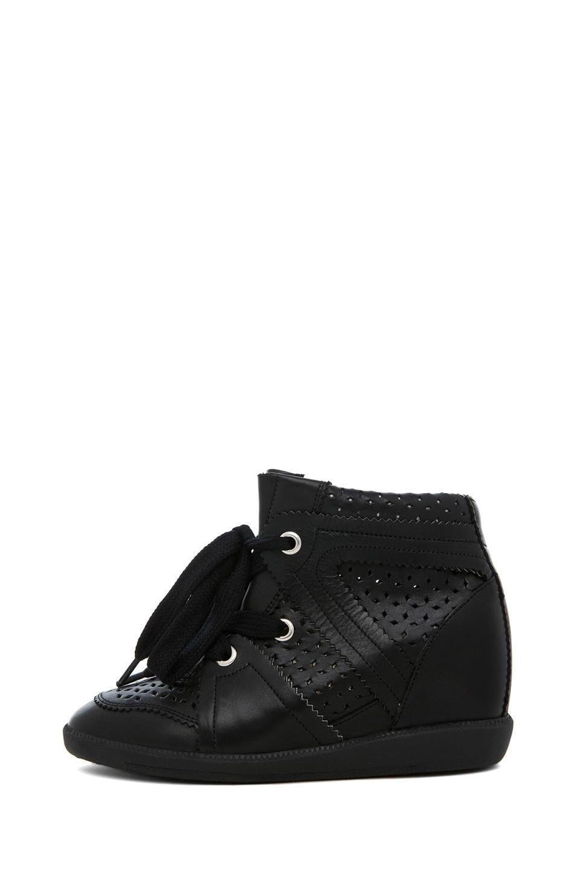 Image 1 of Isabel Marant Baya Sneaker in Noir