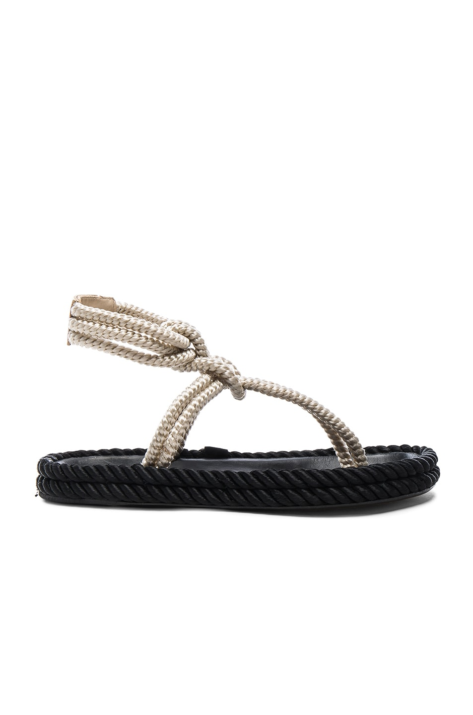 low cost cheap price Isabel Marant Lesley Rope Sandals 2014 new online footaction cheap price buy cheap purchase HWeYyBlU