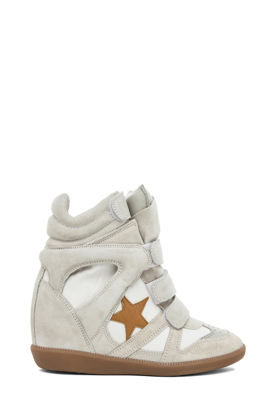Image 1 of Isabel Marant Bayley Sneaker in Craie